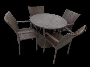 Cj.Magic Mesa c/ 4 cadeiras